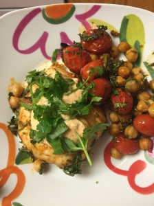 Chicken and Chickpeas cooked