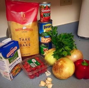 White Bean Ragout Ingredients (2)