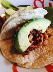 Cilantro Lime Tilapia Tacos complete